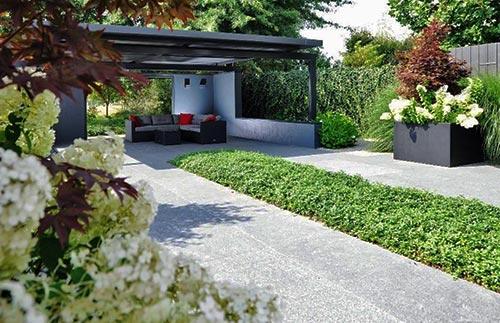 Tuin Laten Aanleggen : Onderhoudsvriendelijke tuin laten aanleggen tuinid bremer